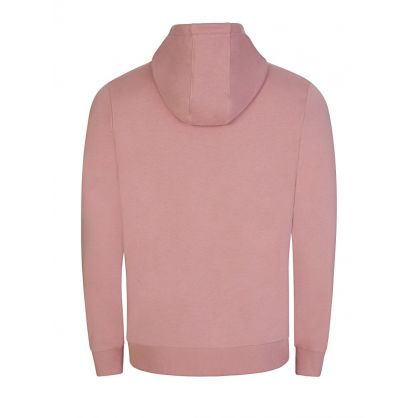 Pink Popover Logo Hoodie