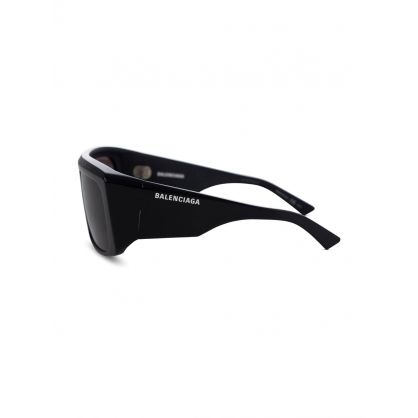Black Thick Rimmed Square Sunglasses