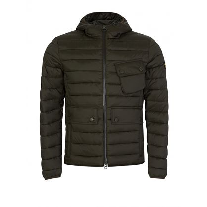 Olive Ouston Hooded Quilted Jacket