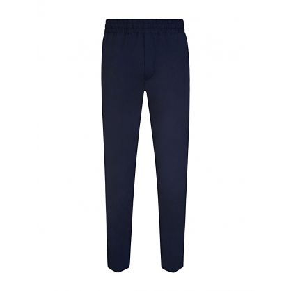 Navy Elasticated Ryder Trousers
