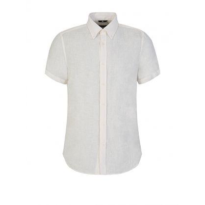 Cream Daniel Linen Shirt
