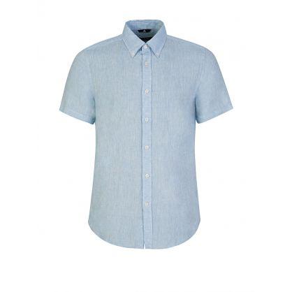 Blue Daniel Linen Shirt