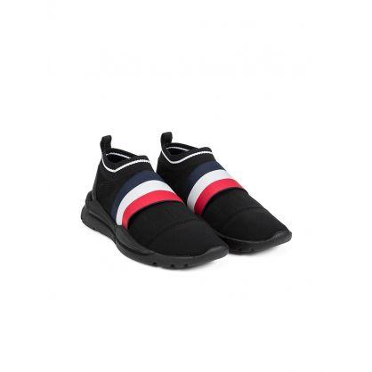 Black Adon Slip-on Trainer