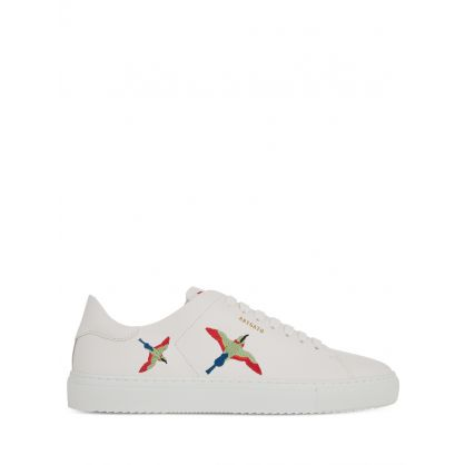 White Clean 90 Bird Project Trainers