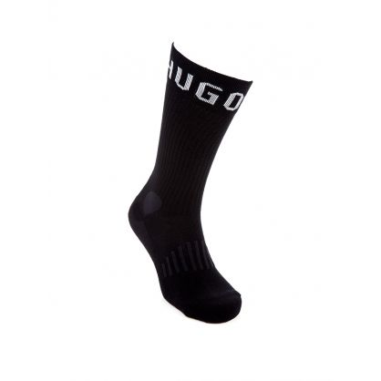 Bodywear Black 2Pack Sport Socks