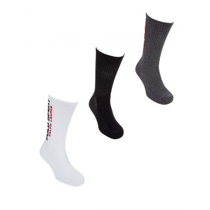 3pack Classic Sport Socks