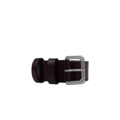 Brown Roller Leather Belt