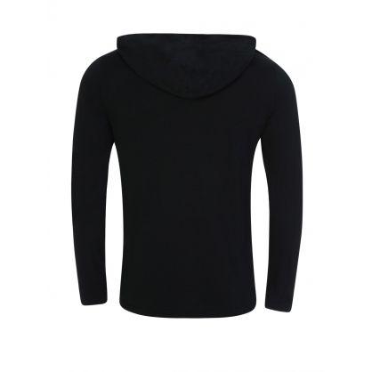 Black Hooded T-Shirt
