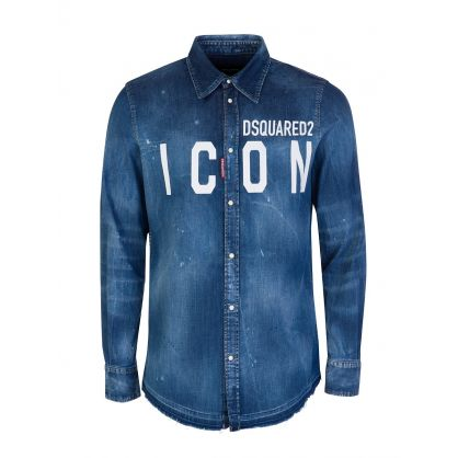 Blue ICON Denim Shirt