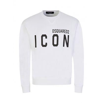 White ICON Sweatshirt