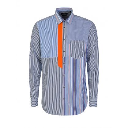 Joli Pinstripes Mix Shirt