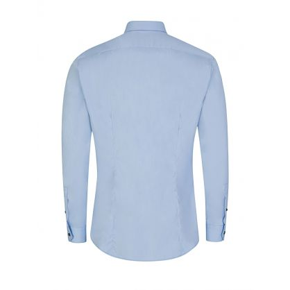 Sky Blue Jim-Poplin Shirt