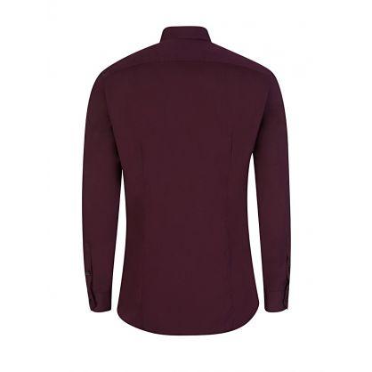 Aubergine Jim-Poplin Shirt