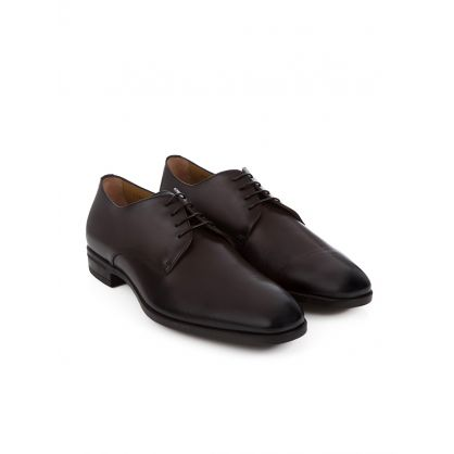 Dark Brown Kensington Derby Shoes
