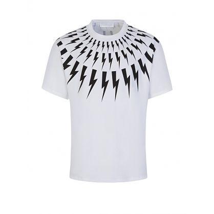 White Thunderbolts T-Shirt