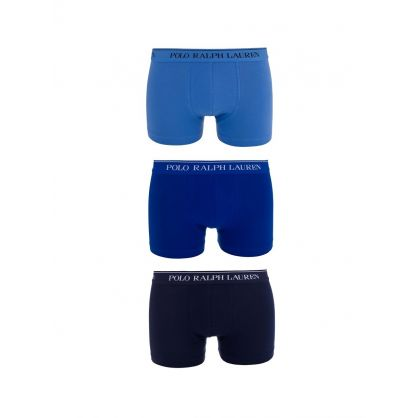 Blue 3-Pack Trunks
