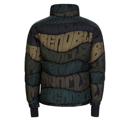 Green Grenoble Print Limmat Jacket