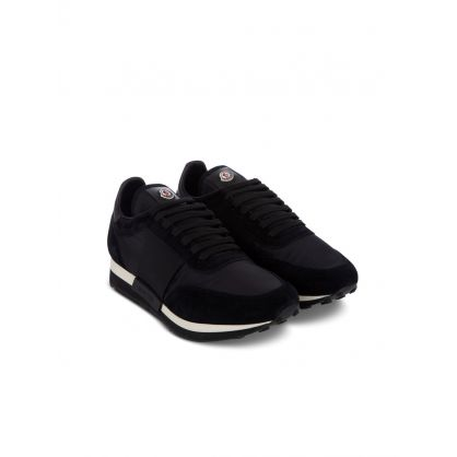 Black Suede Horace Trainers