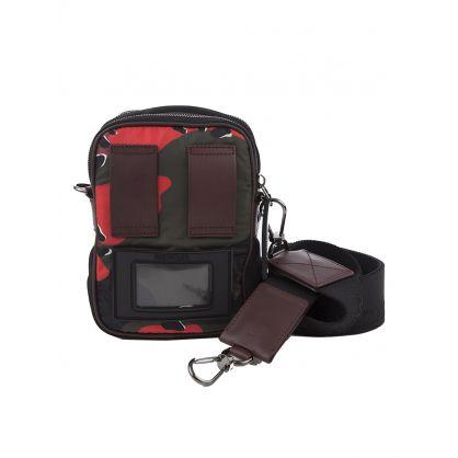 Red Camo Detour Crossbody Bag