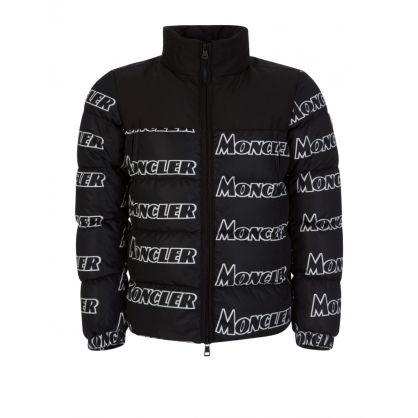 Black Faiveley Logo Jacket