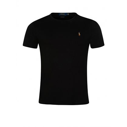 Black Custom Slim Fit T-Shirt