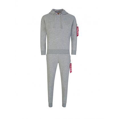 Grey X-Fit Hoodie