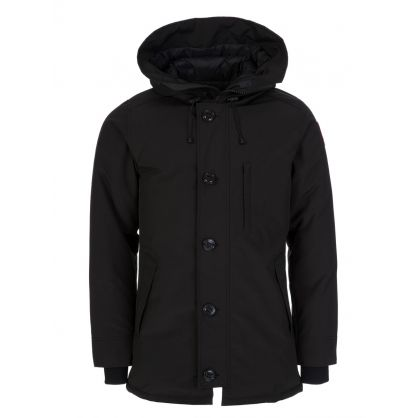 Black Chateau Parka