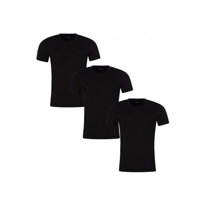 Black 3-Pack Lounge T-Shirts
