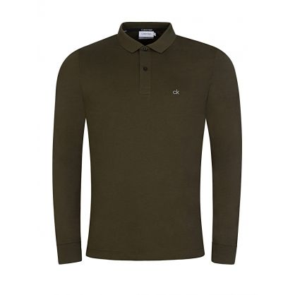 Green Slim-Fit Liquid Touch Polo Shirt