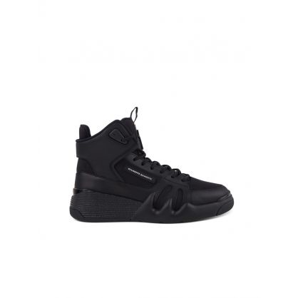Black Talon Hi-Top Trainers