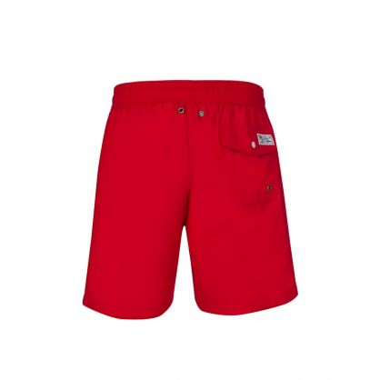 Red Traveller Swim Shorts