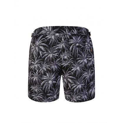Navy Setter X Print Swim Shorts