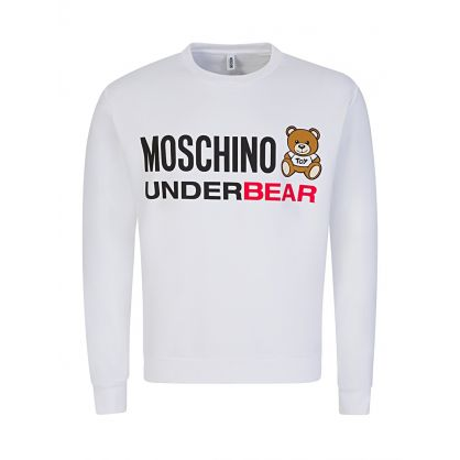 White Underbear Sweatshirt