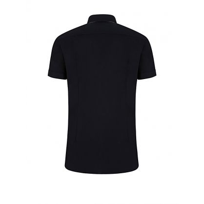 Navy Jats Slim Shirt