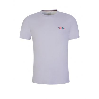 Lilac Slim-Fit Logo T-Shirt