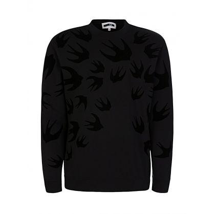 Black Swallow Sweatshirt