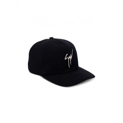 Black Kana Logo  Cap