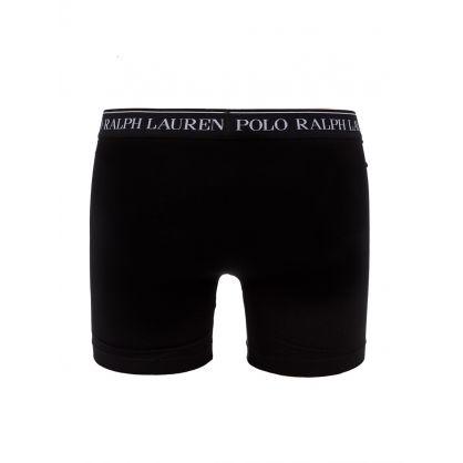 Black 3-Pack Boxer Briefs