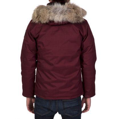 Bordeaux Cumberland Parka Jacket