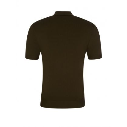 Green Travel Techno Knit Polo Shirt