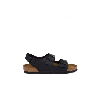 Black Milano Birko-Flor Sandals