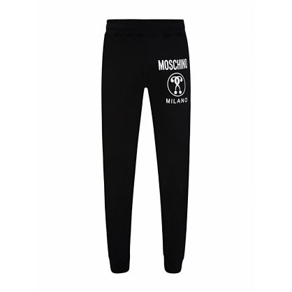 Black Milano Logo Sweatpants