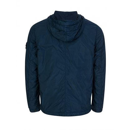 Blue Marine Hooded Jacket