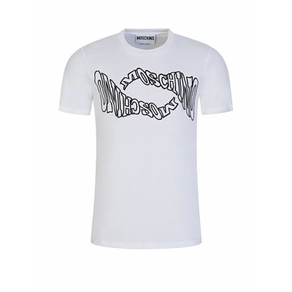 White Wave Logo T-Shirt