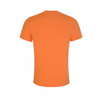 Orange Chest Logo T-Shirt
