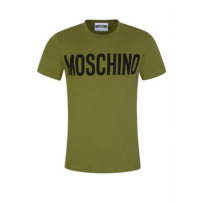 Green Logo Print T-Shirt