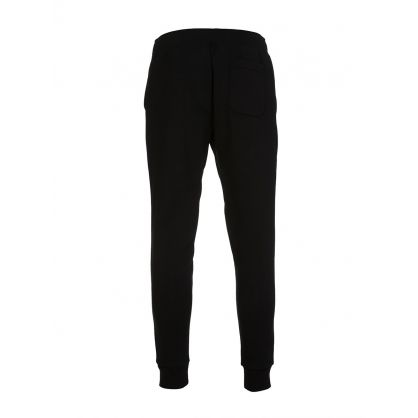 Black Double-Knitted Jogger