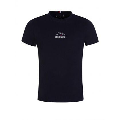 Navy Arch Logo T-Shirt