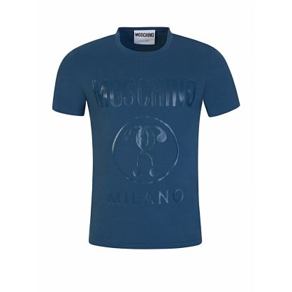 Blue Slim Fit Milano T-Shirt