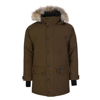 Military Green Emory Parka